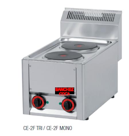 COCINA SERIE 600 MODELO CE-2F MONO