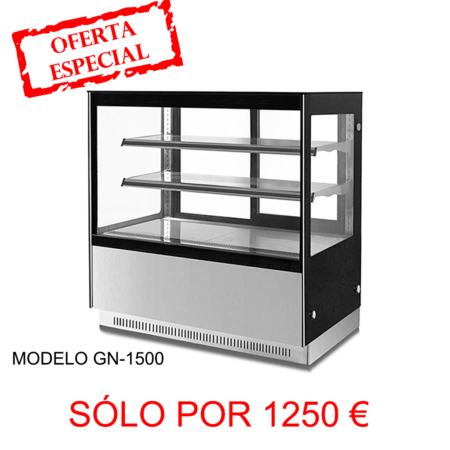 VITRINA PASTELERA REFRIGERADA GN-1500