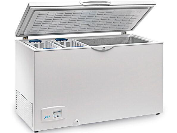 CONGELADOR HORIZONTAL TAPA CIEGA ABATIBLE HC 570 INOX EUROFRED 1