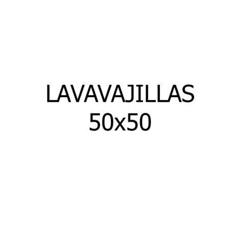 Lavavajillas 50x50